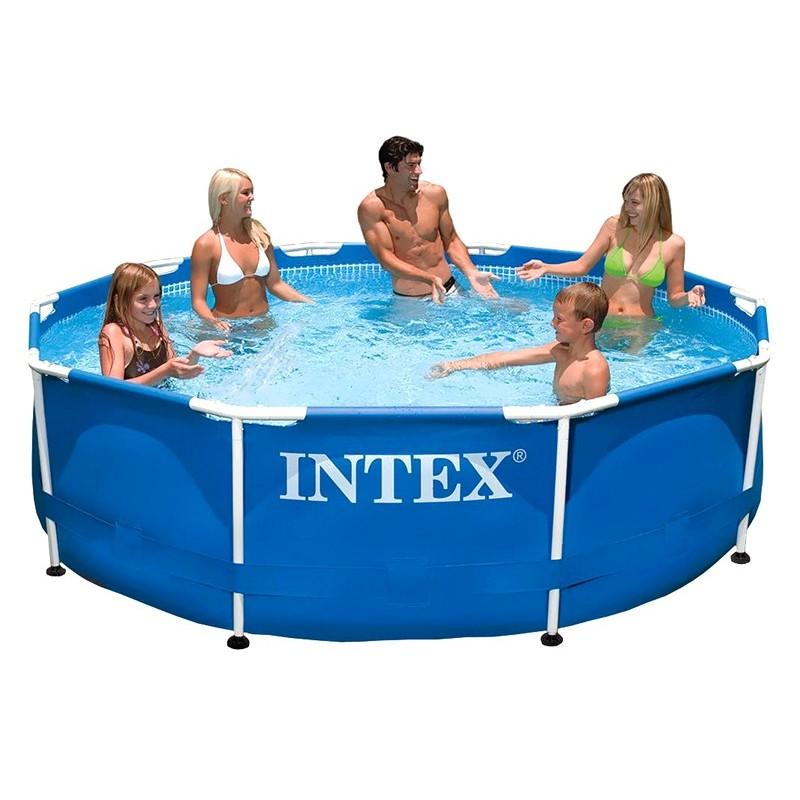 Каркасный круглый бассейн (Intex 28200)