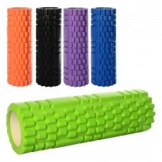 Массажный ролик для йоги, 45 х 15 см (Profi MS1843-2)