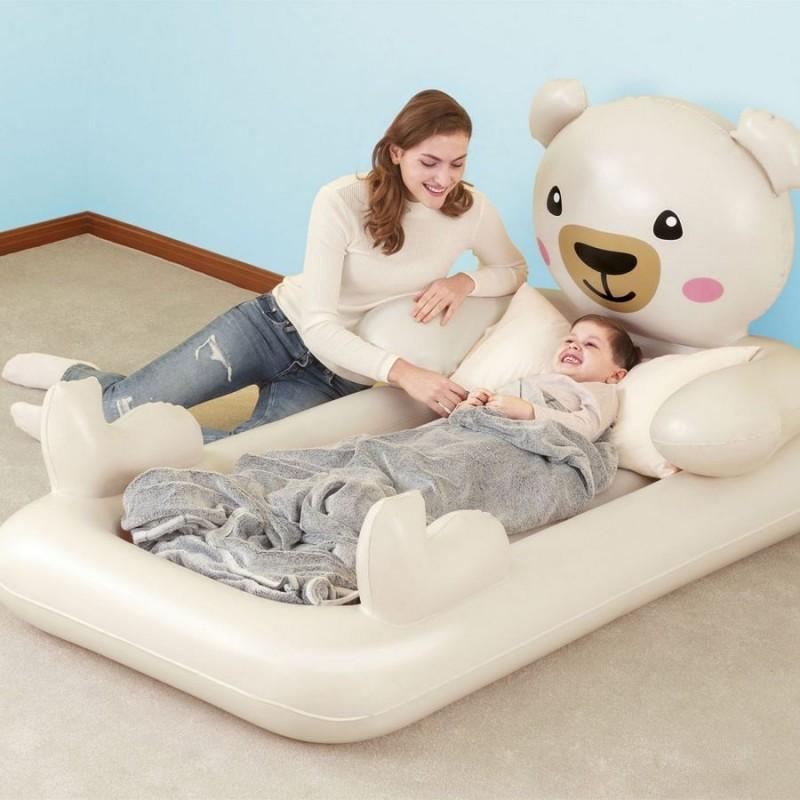Надувная односпальная кровать - Teddy (Bestway 67712)