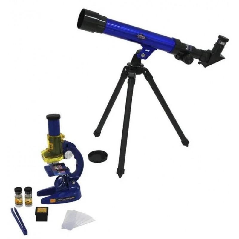 Детский научный набор - Телескоп + микроскоп (Limo Toy SK0014)