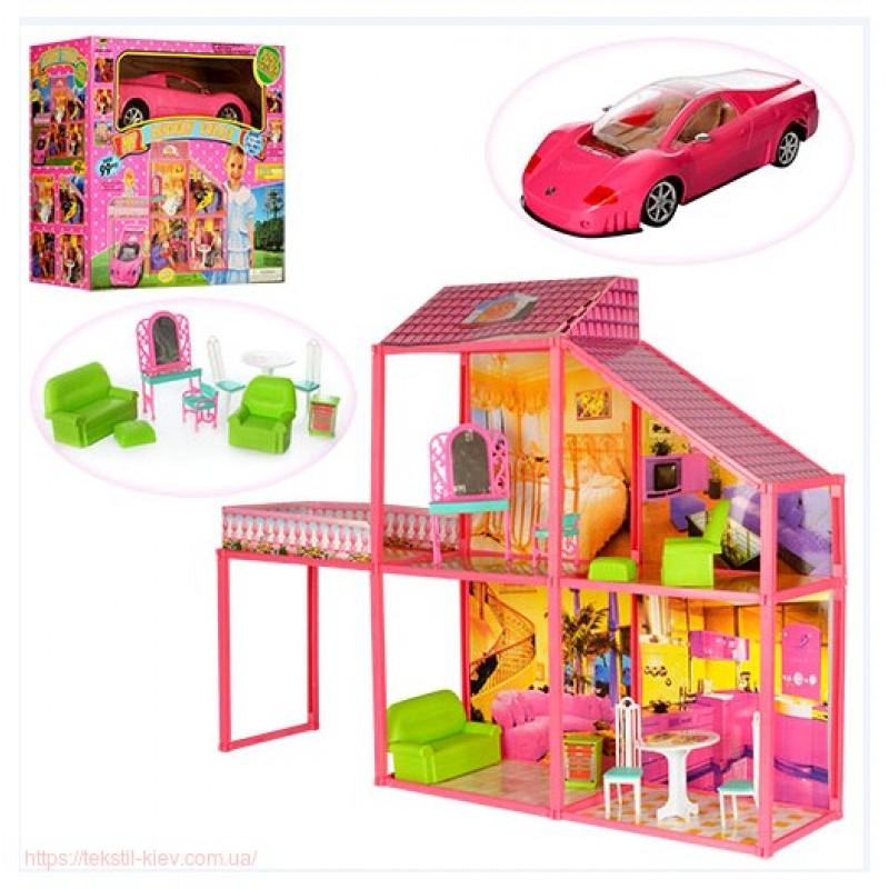 Двухэтажный Домик для кукoл Барби (арт. 6981)