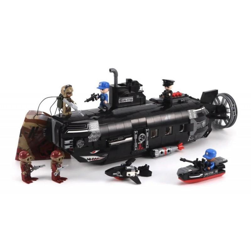 Конструктор - Подводная лодка (Qman 1730)