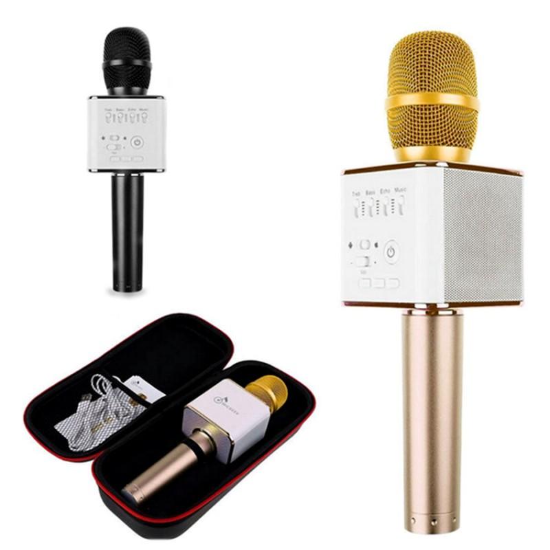 Беспроводной Bluetooth караоке-микрофон 2 в 1 (MicGeek Q9)