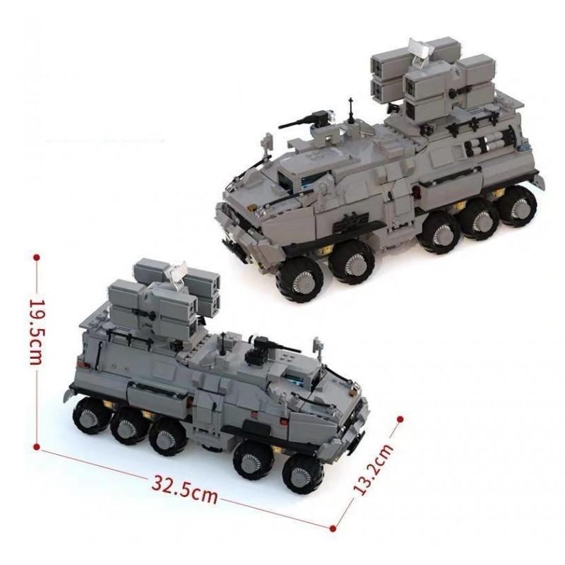 Конструктор Военный транспорт - Блуждающая земля (арт. 107007)