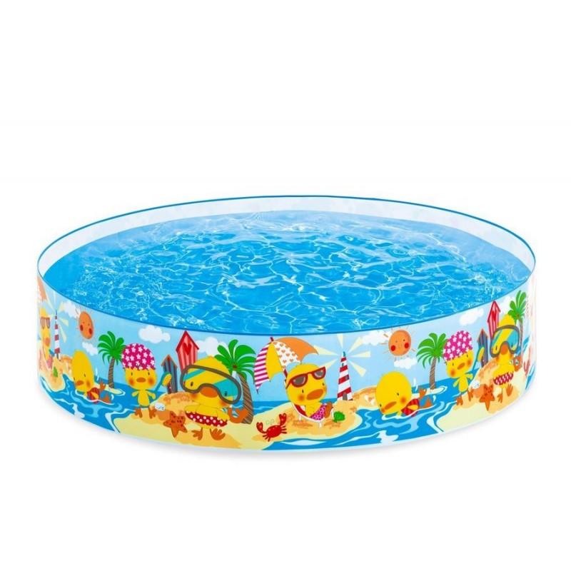 Детский каркасный бассейн - Утиный Риф (Intex 58477NP)