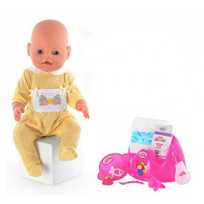 Пупс Маленькая Ляля, 9 функций, аналог Baby Born (арт. 8001-2R)