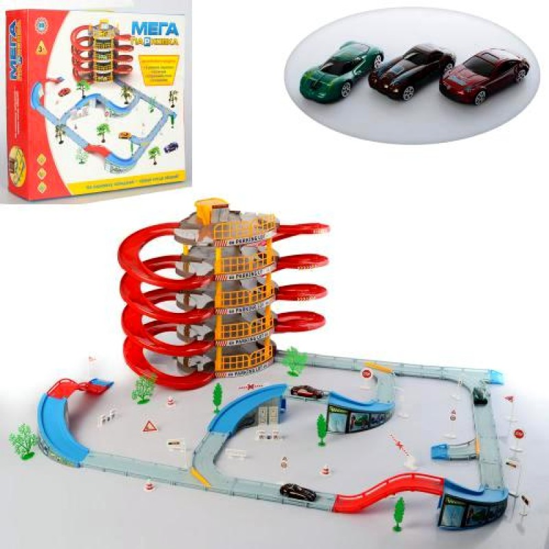"Игровой набор Гараж ""Мега Парковка"" (Jia Yu Toy 922-11)"