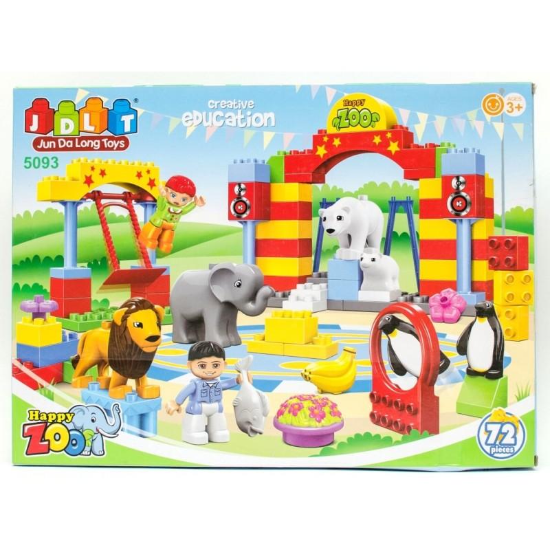 Конструктор - Зоопарк (JDLT 5093)