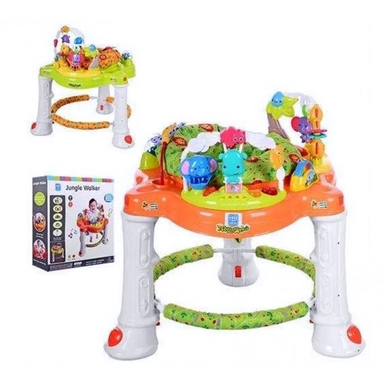Детский развивающий многофункциональный игровой центр-прыгунки (арт. 63567)