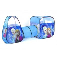 Детская двойная палатка с туннелем - Frozen - Холодное сердце (арт.8015FZ)