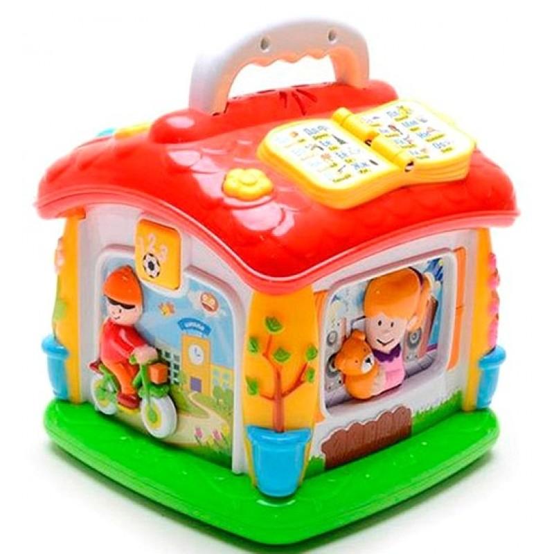 Развивающая игрушка - Говорящий Домик (Joy Toy 9149)