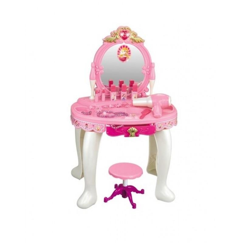 Детский туалетный столик - трюмо со стульчиком (арт. 008-23)