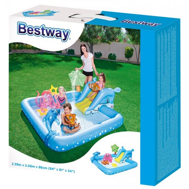 """Детский игровой центр """"Аквариум"""" (Bestway 53052)"""