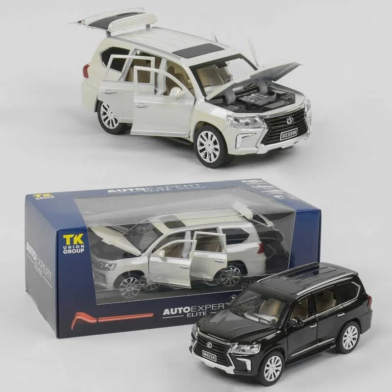 """Машина металлическая """"Auto Expert"""" - Внедорожник Lexus, 2 цвета (арт. EL9218)"""