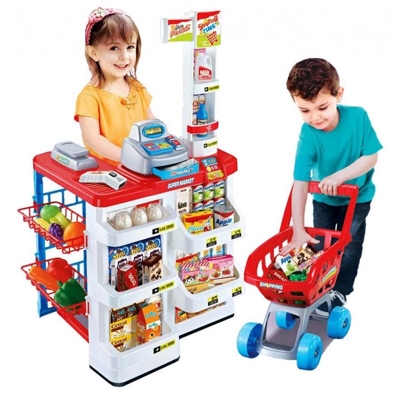 Игровой набор - Магазин с тележкой (арт. 668-01)
