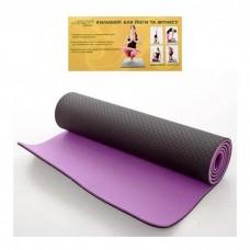 Коврики для йоги и фитнеса (Profi MS0613-1-BV)