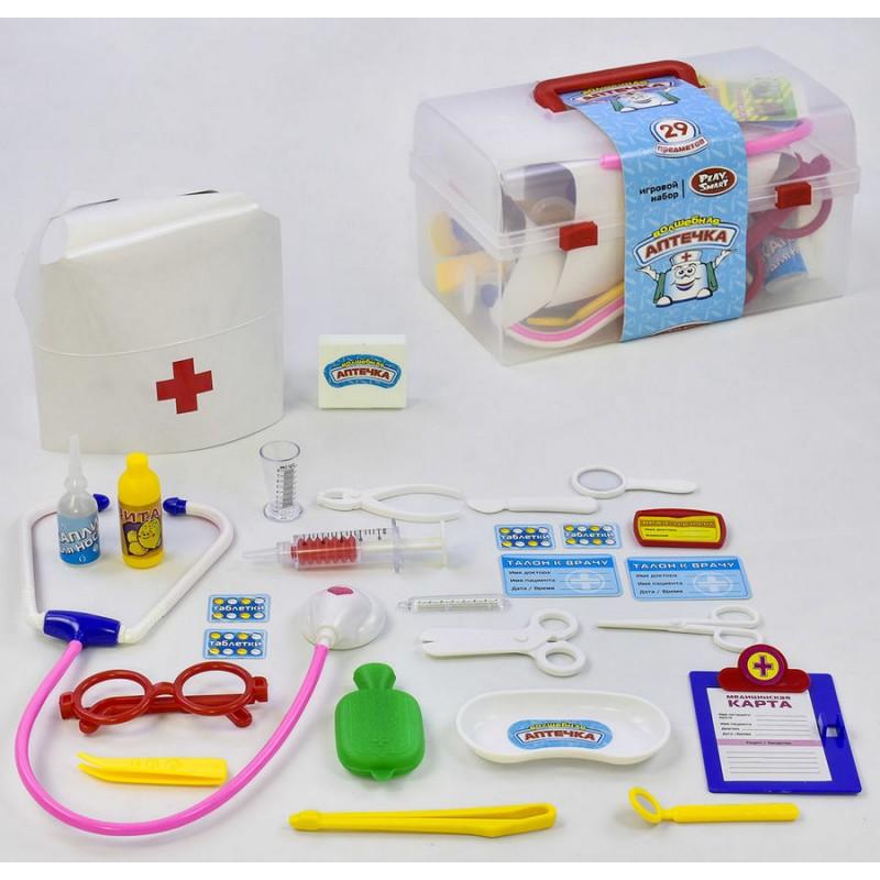"""Игровой набор в чемодане """"Волшебная Аптечка"""" (Play Smart 2551)"""