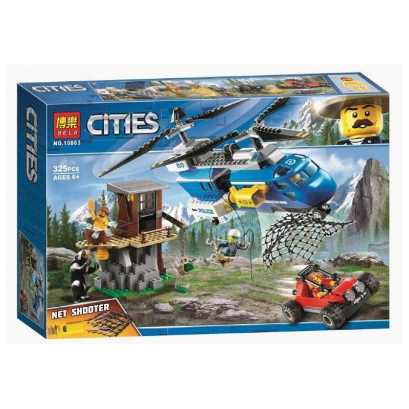 Конструктор Город - Погоня в горах (Bela 10863)