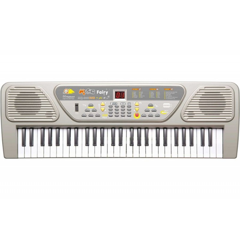 Детский синтезатор с USB MP3 плеером (арт. MQ-806USB)