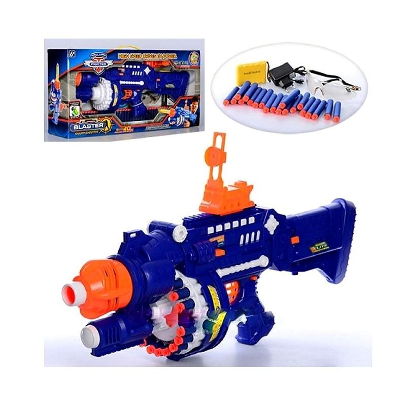 Автомат бластер с мягкими пулями (арт. SB250)