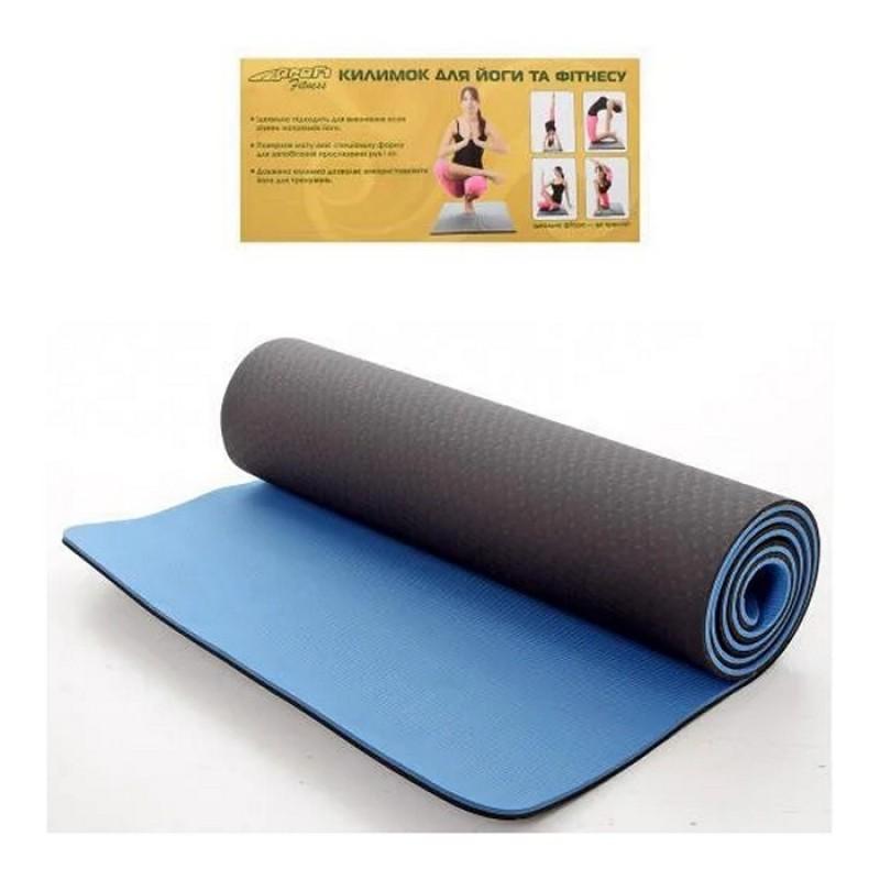Коврики для йоги и фитнеса (Profi MS0613-1-BB)