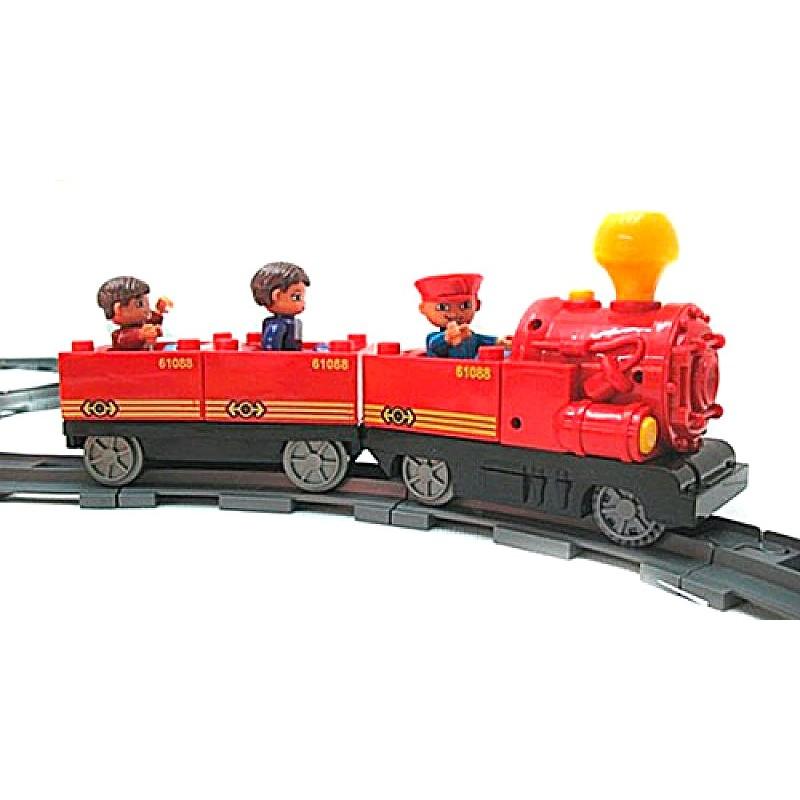 Железная дорога - конструктор (Jixin M0440 U/R/6188D)