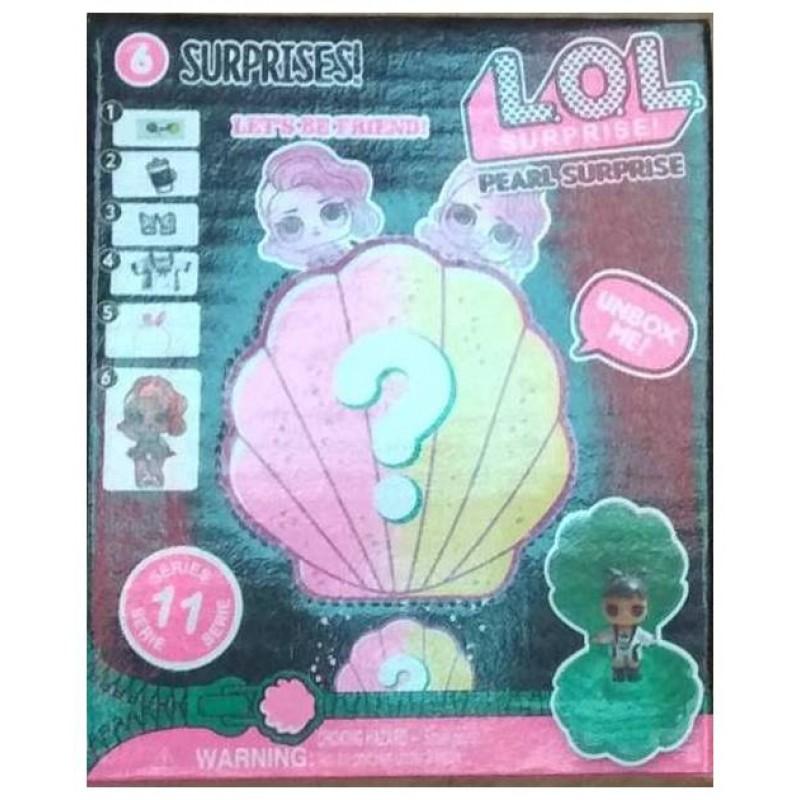 """Кукла L.O.L. в ракушке """"Жемчужный сюрприз"""" (арт. BB49)"""