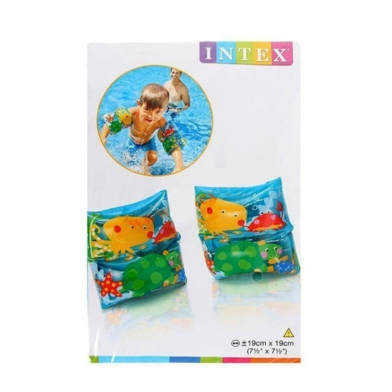 Детские надувные нарукавники для плавания  (Intex 59650)