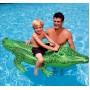 "Надувной плотик ""Крокодил"", 168 х 86 см (Intex 58546)"