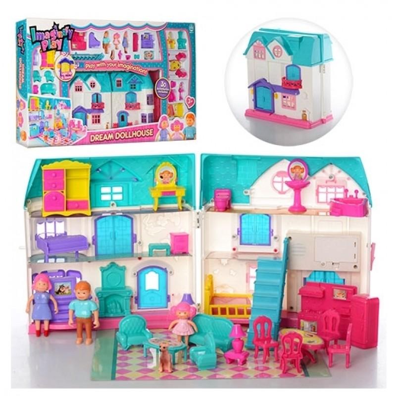 Кукольный домик Dream Dollhouse (арт. 1205)