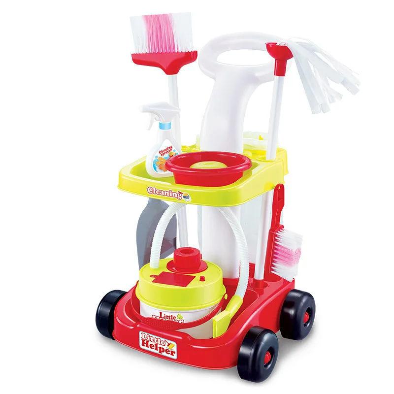 Игровой набор для уборки с пылесосом (Limo Toy 667-34)