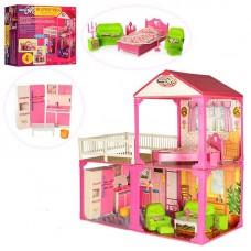 Двухэтажный домик для кукoл Барби My Lovely Villa (арт. 6982B)