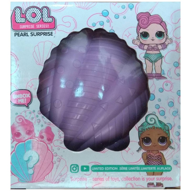 """Кукла L.O.L. в ракушке 2 в 1 """"Жемчужный сюрприз"""" (арт. BB48)"""