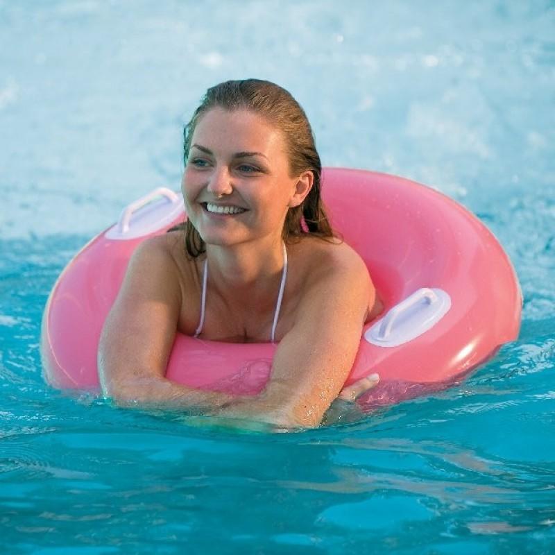 """Надувной круг """"Hi-Gloss Tubes"""" - Розовый, 76 см (Intex 59258-3)"""