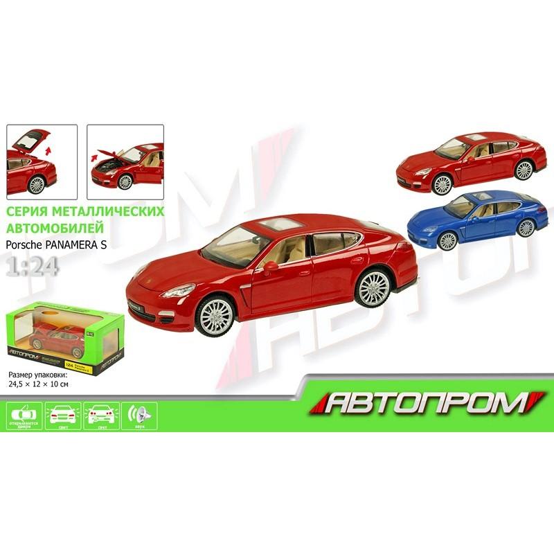 Автомодель 1:24 Porsche Panamera S (Автопром 68245A)