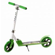 Самокат детский 2-колесный зеленый (Baby Tilly BT-KS-0168)