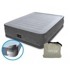 Надувная кровать со встроенным электронасосом (Intex 64414)