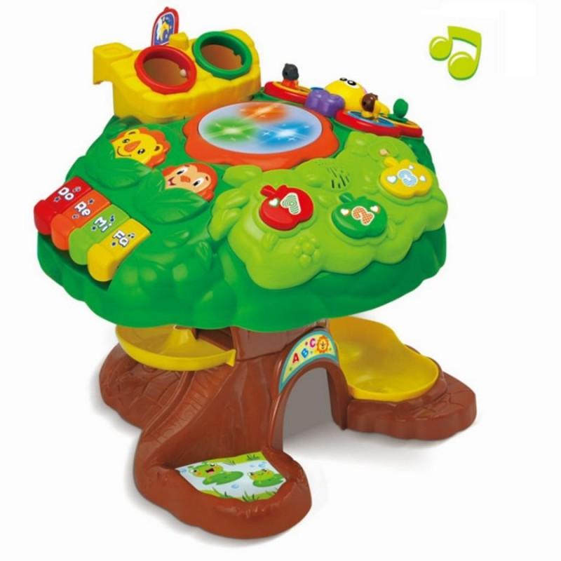 Игровой музыкальный центр - Дерево (Bambi 91150)