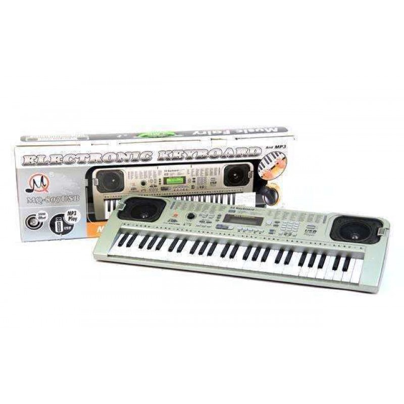 Детский синтезатор, USB сеть (арт. MQ-807)