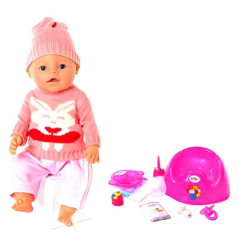 Пупс Baby Born, 9 функций, аналог (арт. 8001-K)