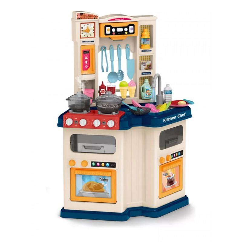 """Детская игровая кухня """"Талантливый Повар"""" с водой и паром (арт. 922-113)"""