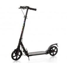 Самокат RiderZ Urban Scooter, ручной тормоз, Черный (iTrike SR2-018-1)