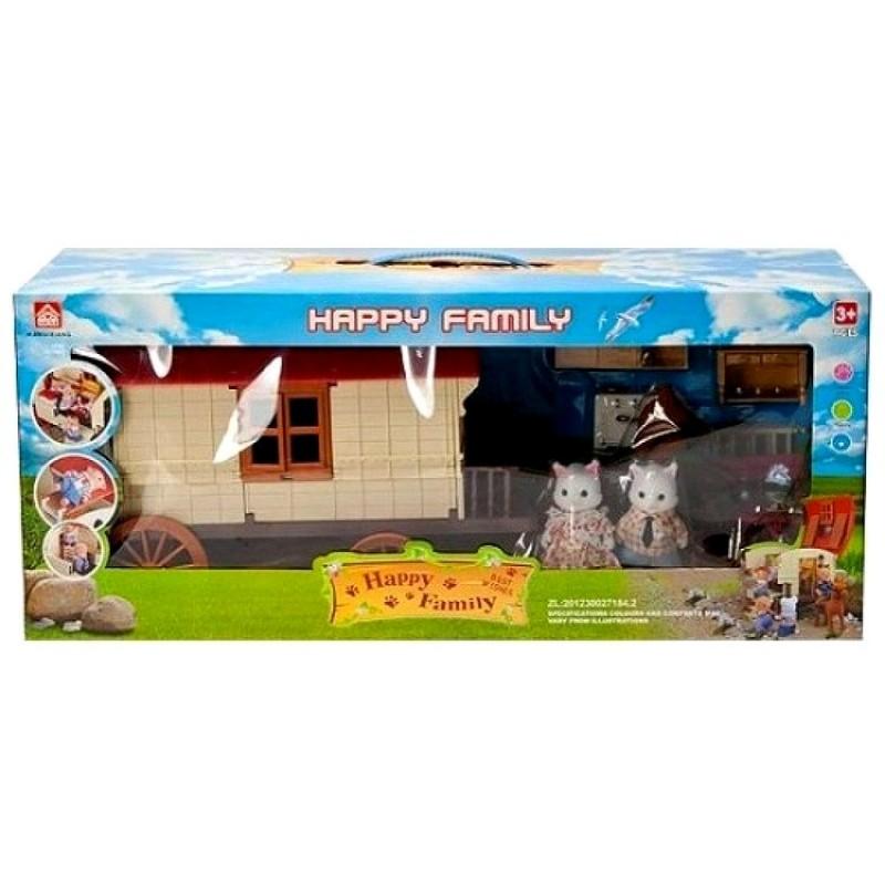 "Игровой набор Happy Family ""Домик на колёсах"" (BK Toys Ltd 012-05)"