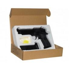 Игрушечный пистолет «Beretta M92», металл/пластик (CYMA ZM18)