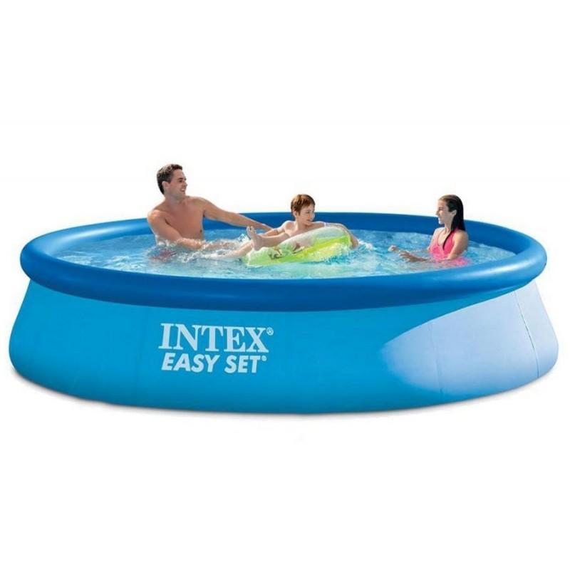Надувной бассейн, 396х84 см (Intex 28143)