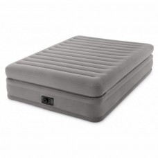Надувная кровать двуспальная с электронасосом (Intex 64164)