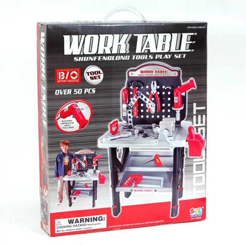 Игровой набор инструментов с верстаком - Work Table (арт. 16554)