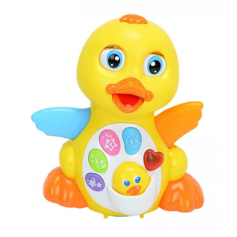 Развивающая игрушка - Радостная Утя (Huile Toys 808)