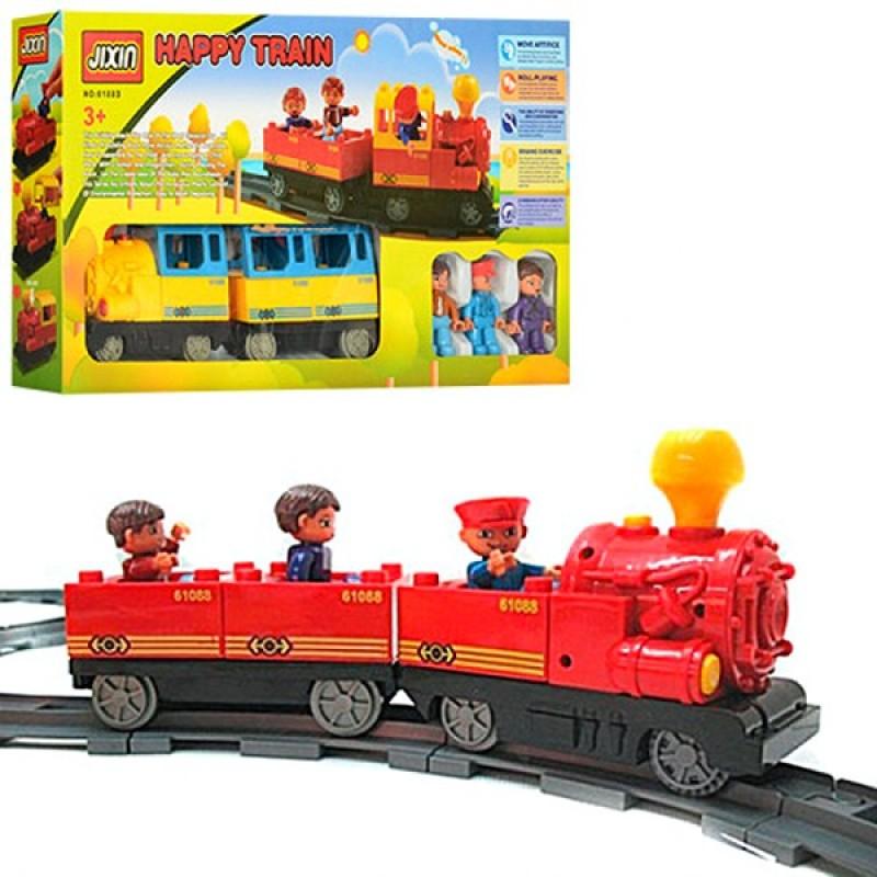 Железная дорога - конструктор (Jixin 6188D)