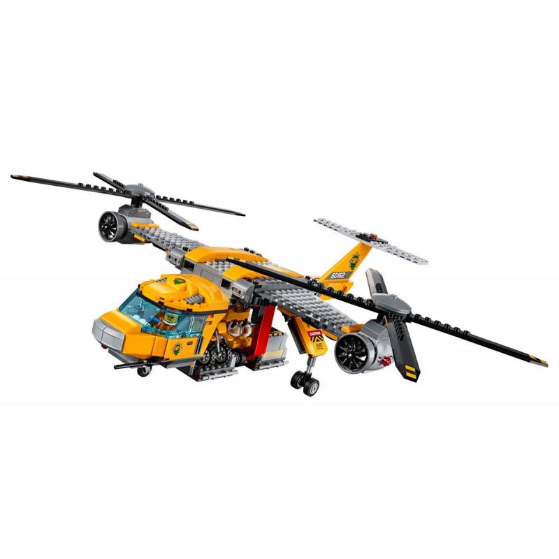 """Конструктор """"Вертолёт для доставки грузов в джунгли"""" (арт. 10713)"""